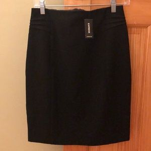 Express Black Pencil Skirt Size 6